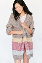 Silence & Noise Silence + Noise Hooded Open Cardigan