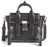 3.1 Phillip Lim Mini Pashli Leather Satchel - Black