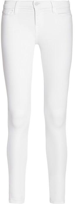 Frame Denim Le Skinny de Jeanne Crop mid-rise skinny jeans