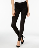 Style&Co. Style & Co Style & Co Petite Printed Seam-Front Leggings, Created for Macy's