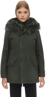 Mr & Mrs Italy Slim Parka W/detachable Internal Vest