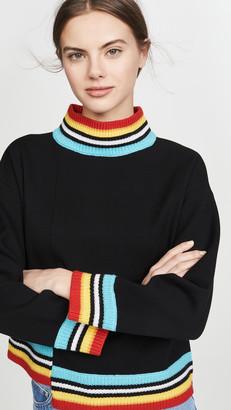 Alice + Olivia Aleta Asymmetrical Pullover