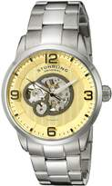 Stuhrling Original Men's 648B.01 Legacy Analog Display Automatic Self Wind Silver Watch