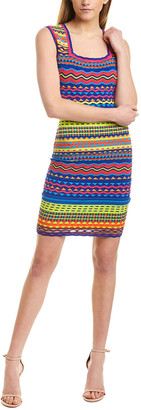 Milly Technicolor Sheath Dress
