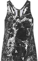 Norma Kamali Printed Stretch-Jersey Tank