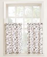 "Lichtenberg Forest Friends 56"" x 24"" Pair of Tier Curtains"