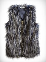 GUESS Faux-Fur Vest (7-16)