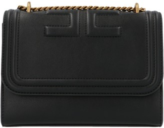 Elisabetta Franchi Logo Medium Shoulder Bag