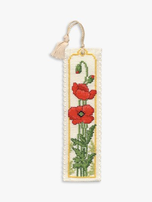 Textile Heritage Poppies Bookmark Embroidery Kit