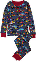 Hatley Children's Demolition Cars Pyjamas, Blue