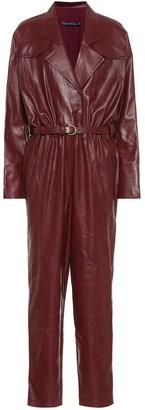 ZEYNEP ARCAY Leather jumpsuit