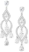 Nadri Women's Legacy Chandelier Earrings