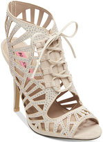 Betsey Johnson Lexxe Cage Sandals