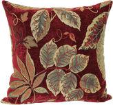 Asstd National Brand Jacquard 18 Floral Decorative Pillow