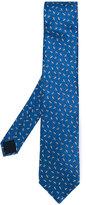Lanvin bird pattern tie - men - Silk - One Size