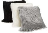 """Hudson Park Mongolian Faux Fur Decorative Pillow, 20"""" x 20"""""""