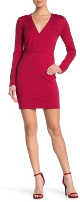 Love by Design Catalina V-Neck Long Sleeve Mini Dress