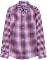 Gant Boys Windblown Oxford Check Shirt