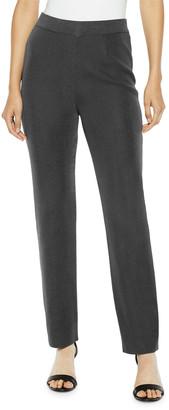 Misook Plus Size Straight-Leg Knit Pants