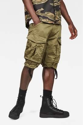 G Star Mens G-Star Beige Rovic Zip Pocket Short - Green