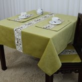 JN Tablecloths European-style Pastoral Tablecloth,Classcal Modern Smple Table Cloth