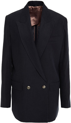 Paul Smith Double-breasted Linen Blazer