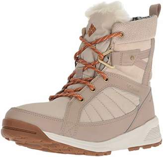 Columbia Women's Hiking Boots Waterproof, MEADOWS SHORTY OMNI-HEAT 3D,Size: 6