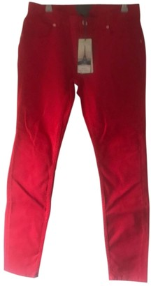 Ted Baker Red Cotton Jeans for Women