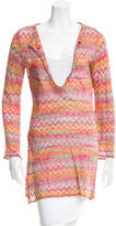 M Missoni Chevron Knit Tunic