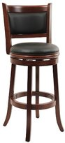 Boraam 49829 Augusta Swivel Stool, 29-Inch, Cherry