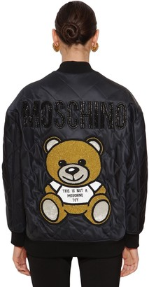 Moschino Quilted Bomber Jacket