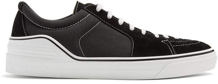 Givenchy George V low-top suede trainers