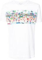 Orlebar Brown beach print T-shirt - men - Cotton - S