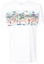Orlebar Brown beach print T-shirt