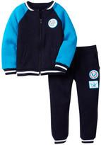 True Religion Jogger Jacket & Pant Set (Toddler Boys)