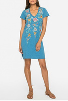 Johnny Was Melina Embroidered Tunic