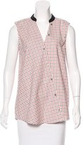 Band Of Outsiders Plaid Sleeveless Top w/ Tags
