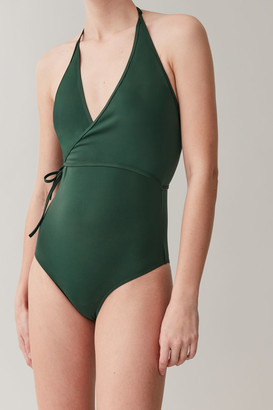 Cos Wrap-Over Swimsuit