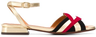Chie Mihara Timai 20mm lips sandals