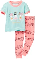 Petit Lem Ballerinas Pajama - 2-Piece Set (Baby Girls)