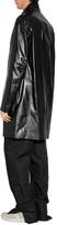 Jil Sander Leather Cambridge Coat