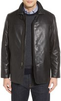 Men's Missani Le Collezioni Reversible Lambskin Leather & Quilted Wool Jacket