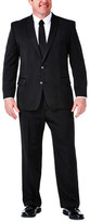 Haggar Big & Tall Suit Separates Jacket - Heather Pinstripe - Straight Fit