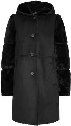 Ralph Lauren Combo Faux-Shearling Coat