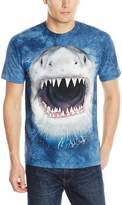 The Mountain Cotton Wicked Nasty Shark Design Novelty Adult T-Shirt (, 4XL)
