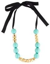 Marni Ribbon Bead Necklace