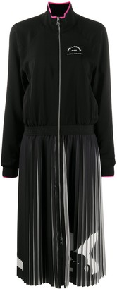 Karl Lagerfeld Paris Rue St-Guillaume pleated dress