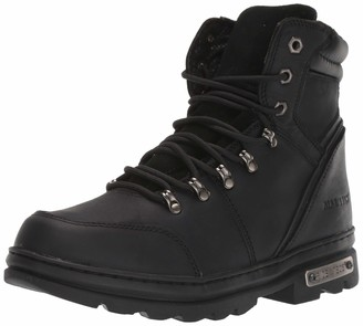 "AdTec 6"" Motorcyle Boots for Men Oil Reistant Good Year Welt Construction Riding Footwear"