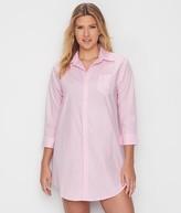Lauren Ralph Lauren Classic Stripe Woven Ballet Sleep Shirt