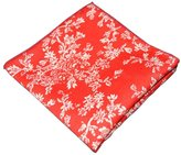 Sitong men's cotton multicolor small floral printed pocket square handkerchief